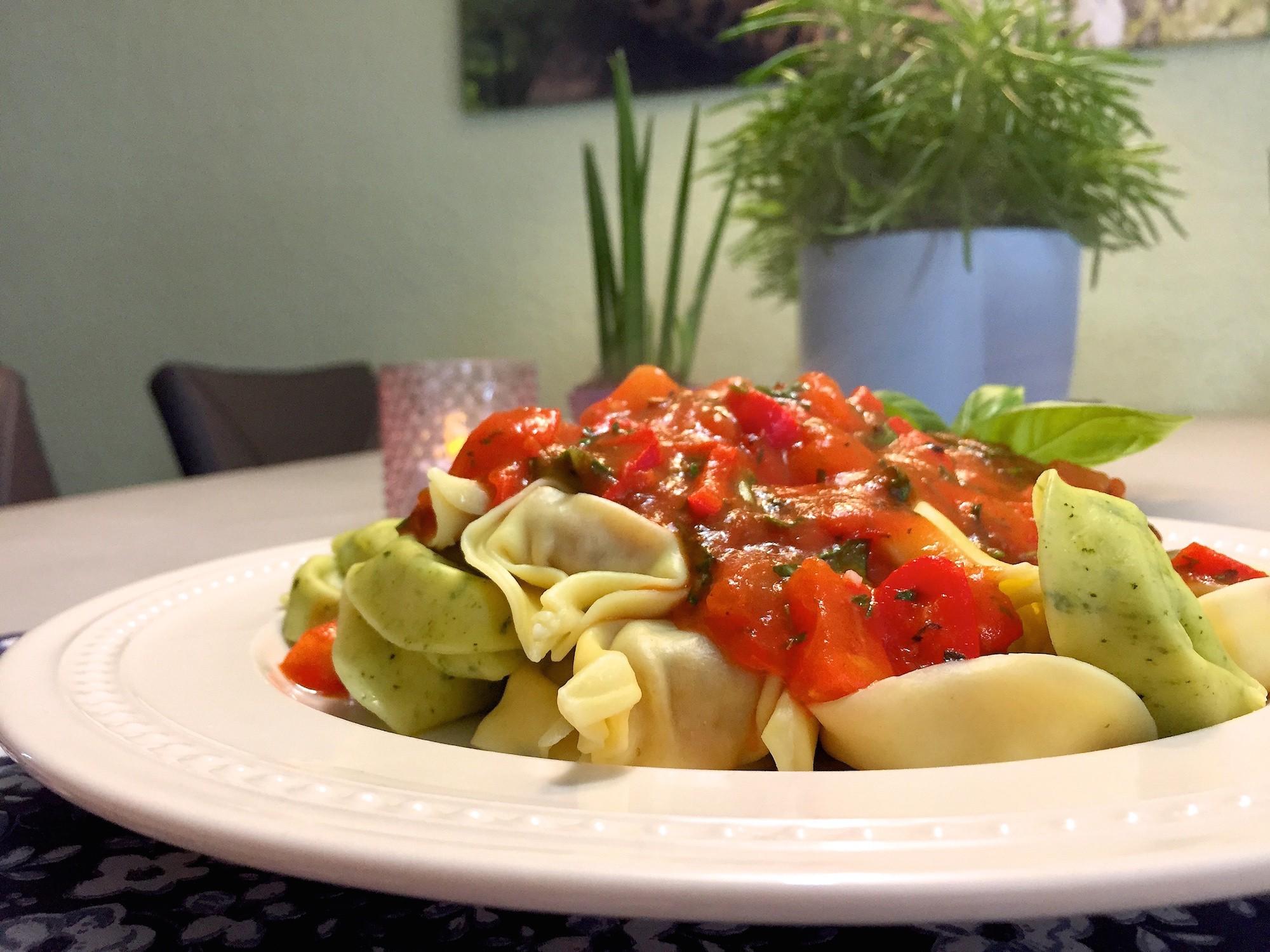 Pasta pomodoro tomaat