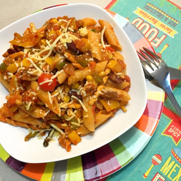 resultaat mexicaanse pasta