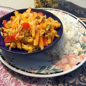 thaise gele curry