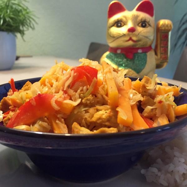thaise gele curry voorbeeld