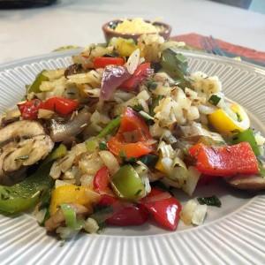 Geroerbakte Rosti groenten