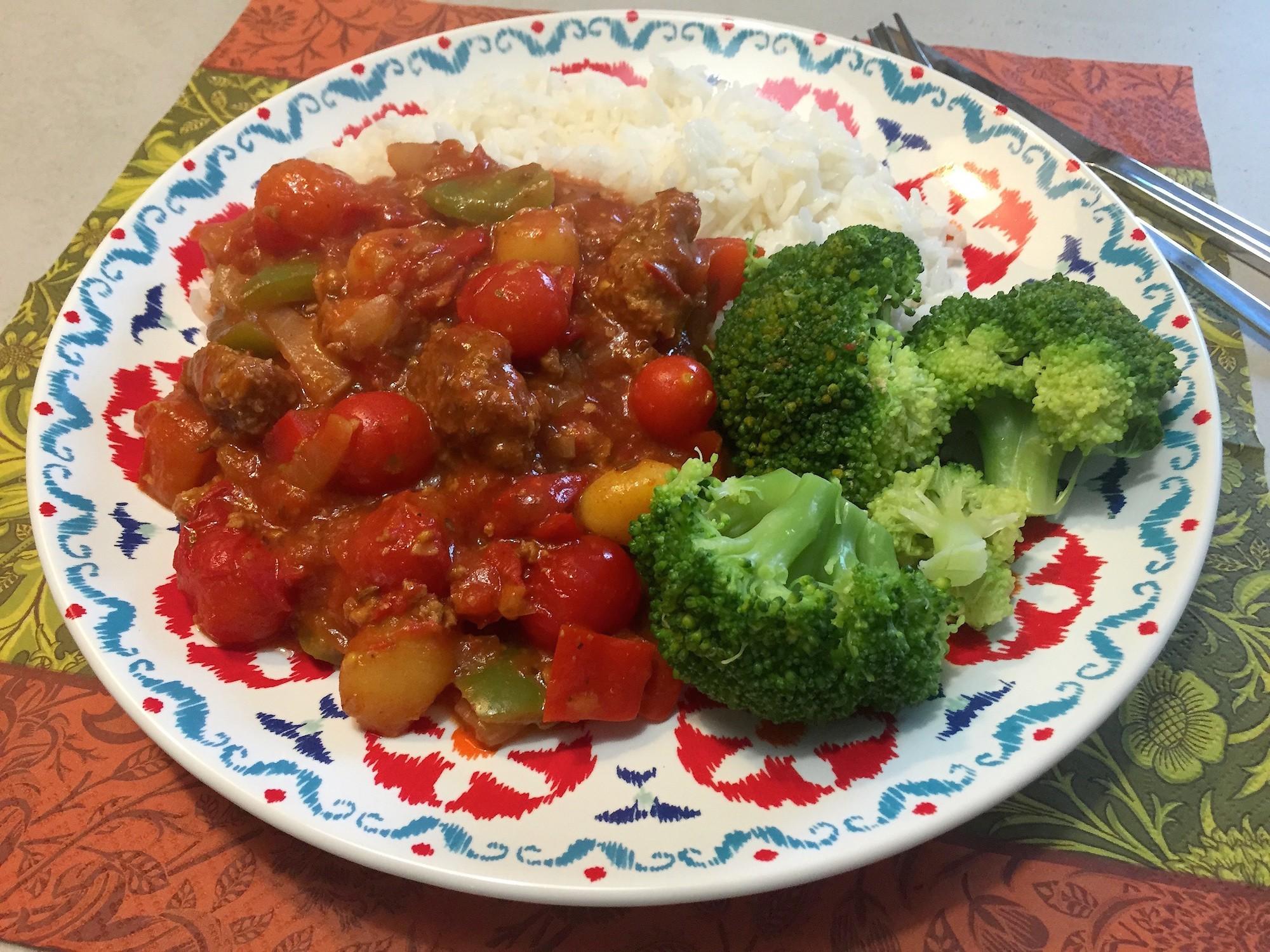 Vegetarische goulash