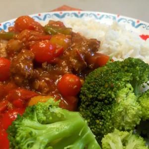 Vegetarische goulash 3