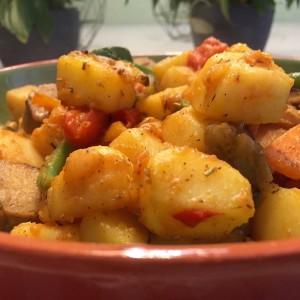 resultaat aardappel ratatouille 1