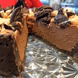 Super lekkere Nutella cheesecake