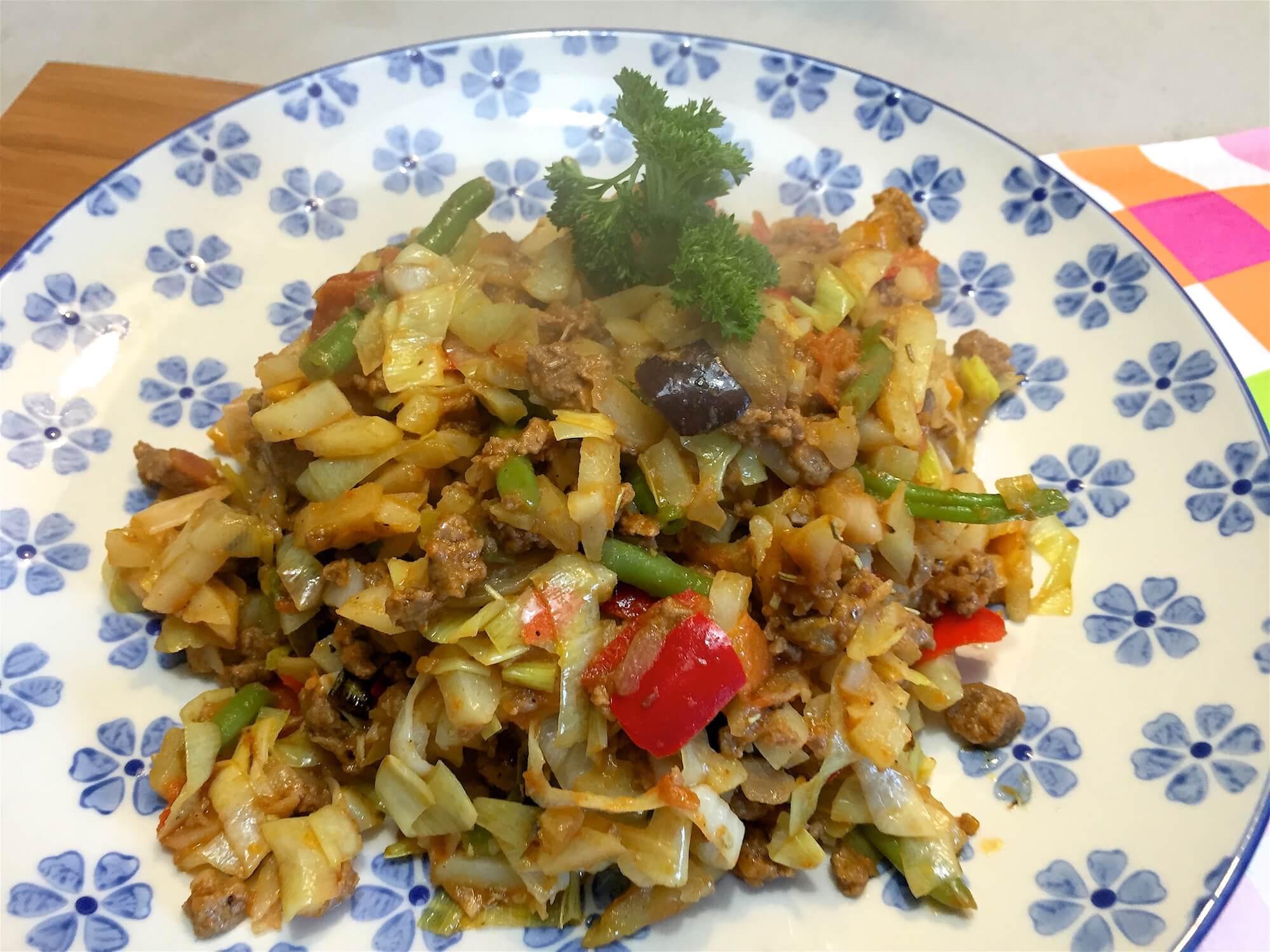 Heerlijke Aardappelschotel met groenten