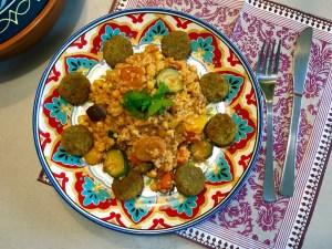 Overheerlijke Tajine met Bulgur en abrikozen
