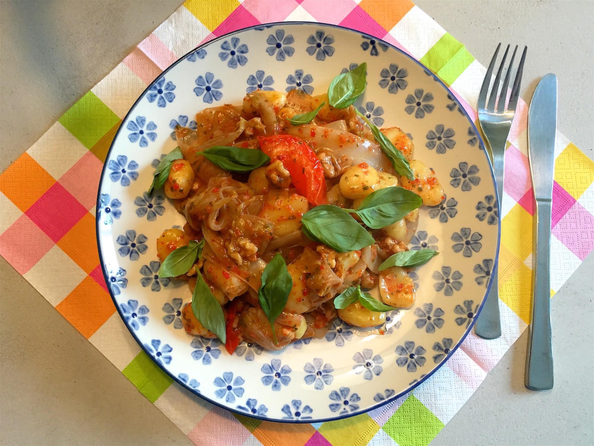 Smakelijk! gnocchi met witlof