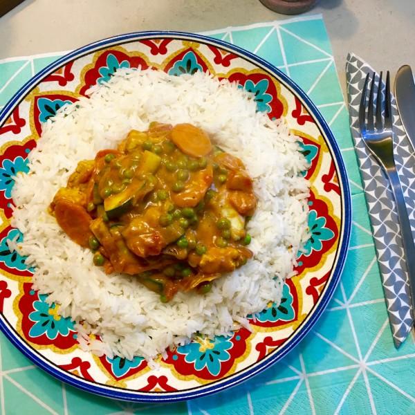 Lekkere Indiase curry