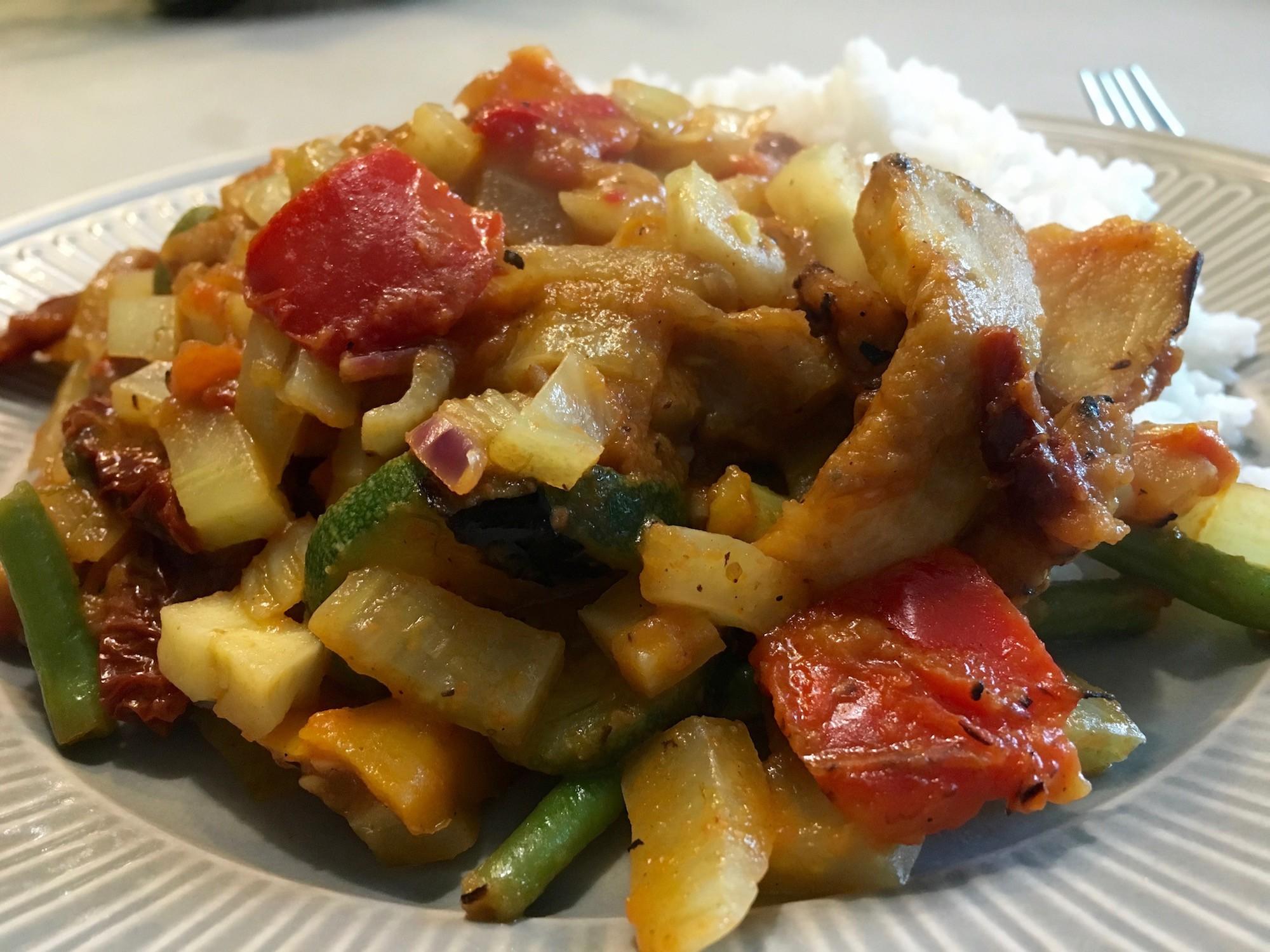Italiaanse stoofpot met rijst
