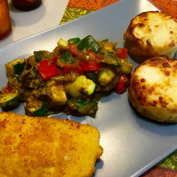 Mini Gratins en groenten en kaas