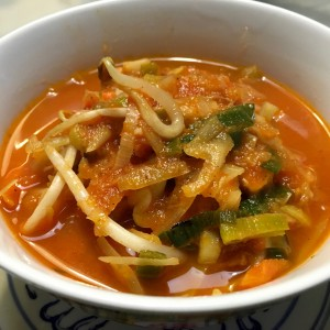 groenten Chinese tomatensoep