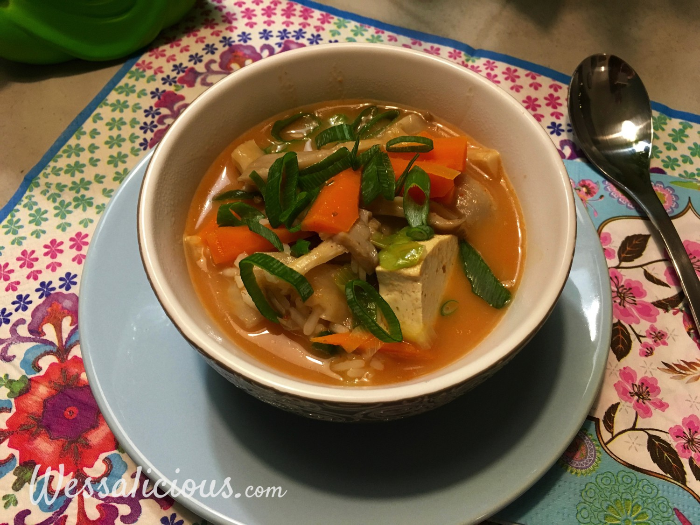 Thaise Tom Yam soep