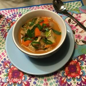 lekkere Thaise Tom Yam soep