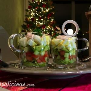 Kerst Vegetarische garnalencocktail