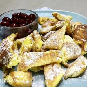 luchtige pannenkoeken (Kaiserschmarren)