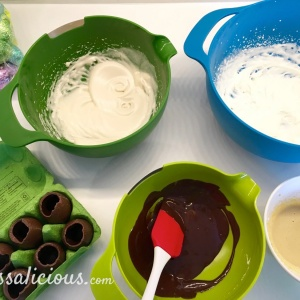 voorbereiding Verrassende chocolademousse