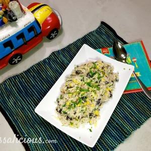 resultaat Smeuige enchilada rijst