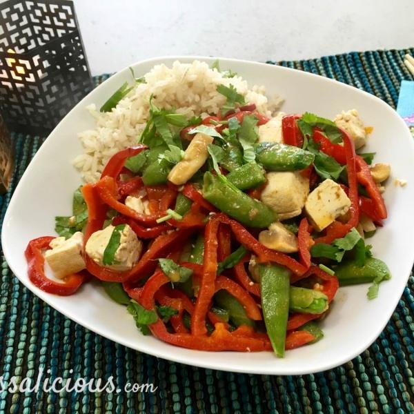 voorbeeld Thaise curry met zilvervliesrijst