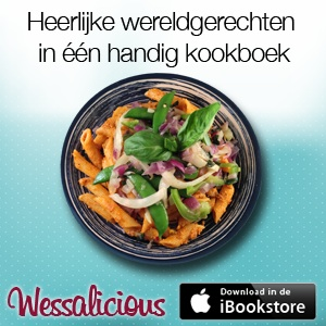 advertentie kookbook wessalicious