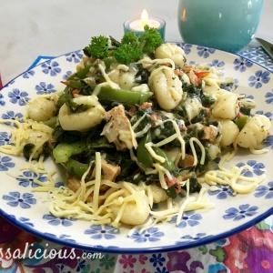 Gnocchi met groene groenten