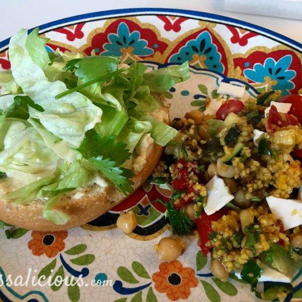 Voorbereiding Marokkaanse hamburger