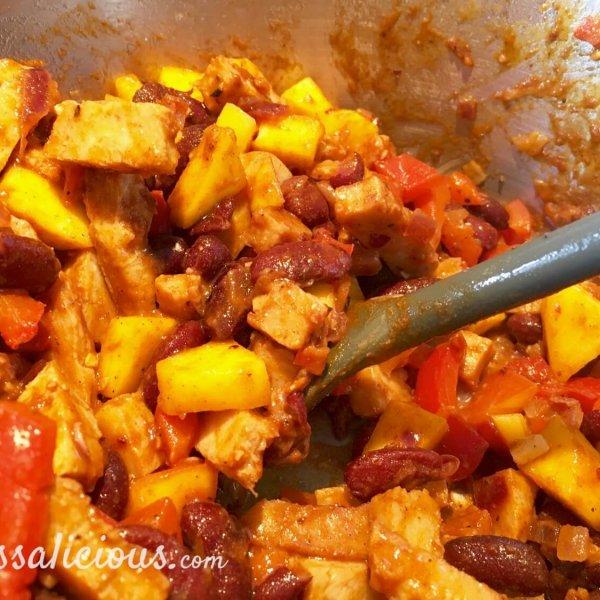 voorbereiding Frisse taco's