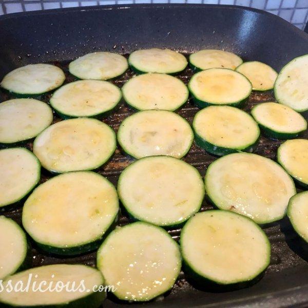 voorbereiding Frisse limoen-courgette