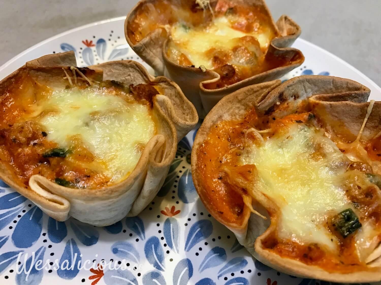 Originele Mini lasagne's van wraps