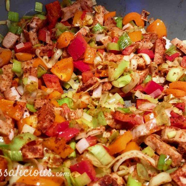 voorbereiding Zoete aardappelschotel