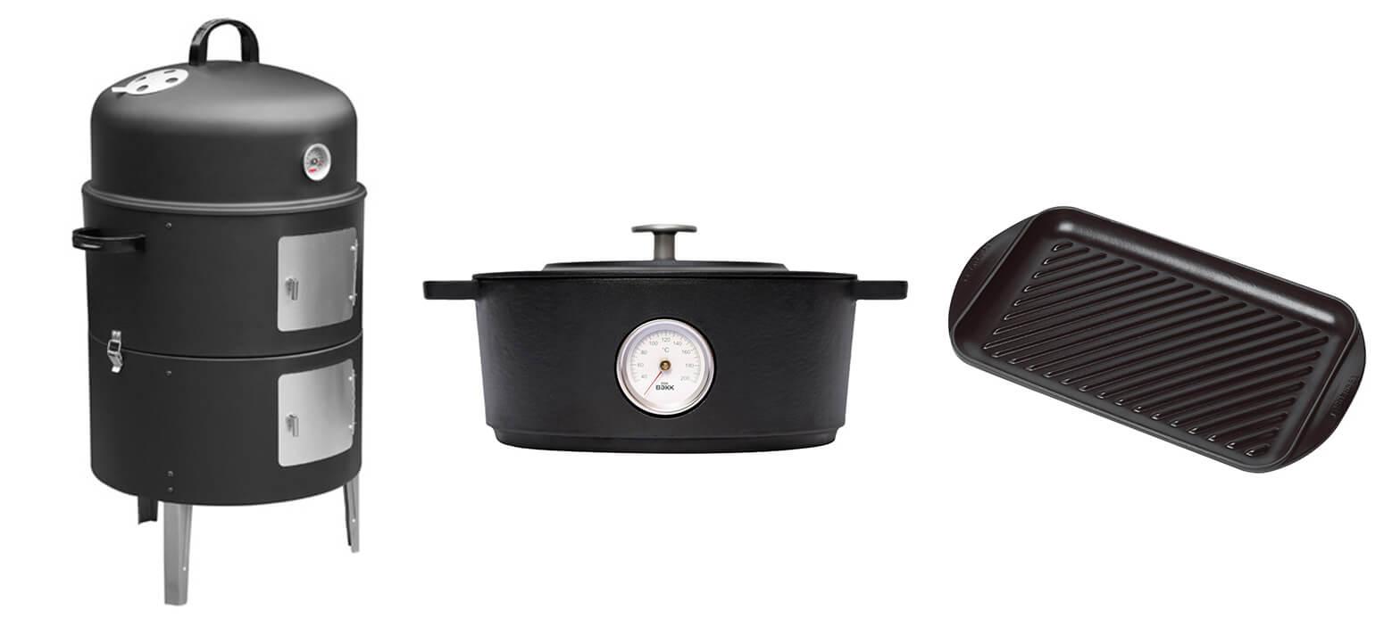 blackend producten zoals grill en rookoven