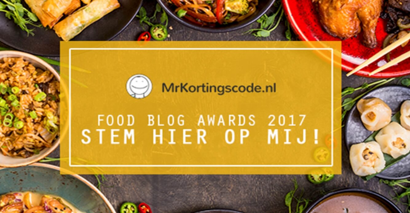 Food blog awards 2017