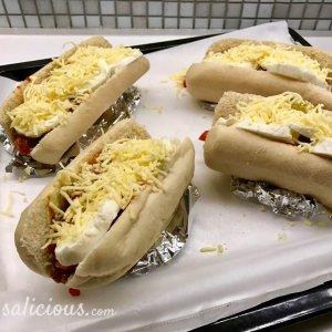 voorbereiding Smeuïge Italiaanse broodjes met bolognesesaus
