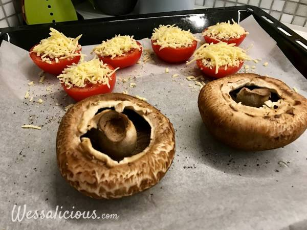 Voorbereiding Risotto met portobello en pompoen