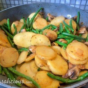 voorbereiding Aardappelschotel met ei