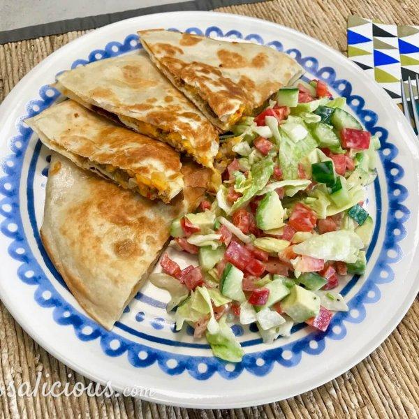 Quesadilla's met zoete aardappel