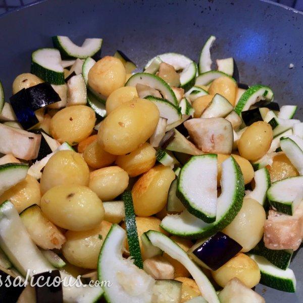 voorbereiding groenten