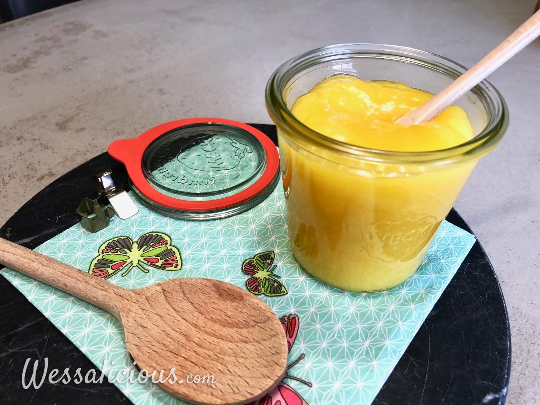 Zelfgemaakte Lemon Curd