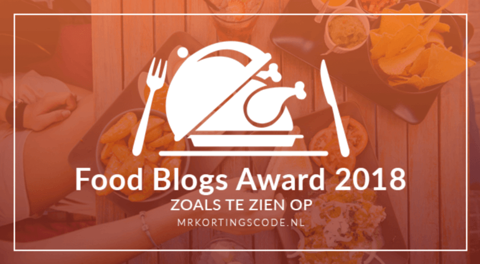food blog awards 2018