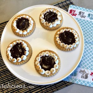 karamel zeezout taartjes - 2