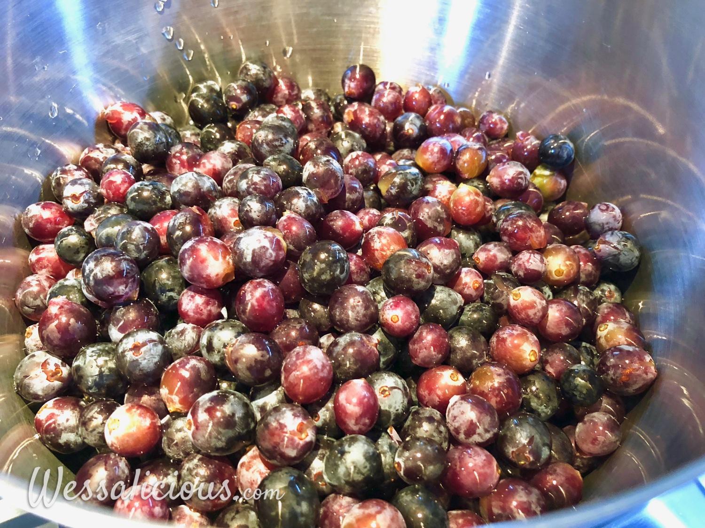 Druiven koken