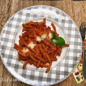 Vegetarische Pasta all'Arrabiata