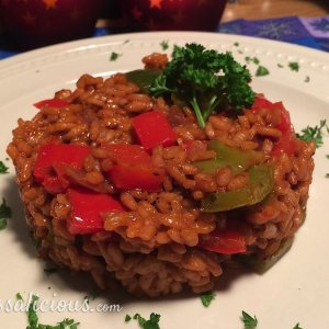 rode risotto kerst