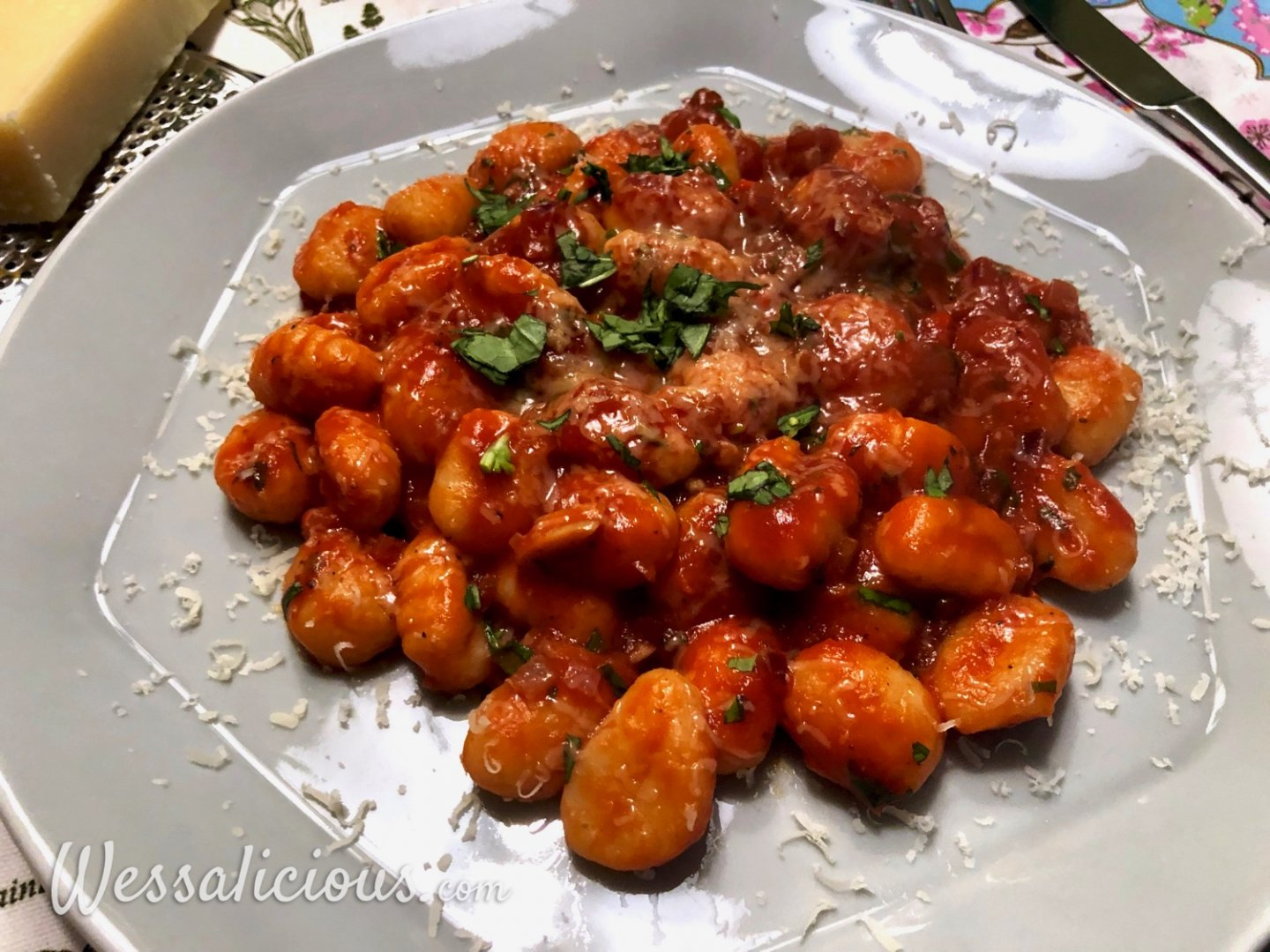 Gnocchi all'Arrabiata