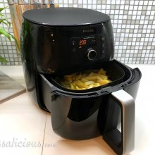 Frieten bakken in de Philips Avance AirFryer XXL