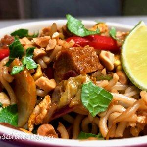Vegetarische Pad Thai