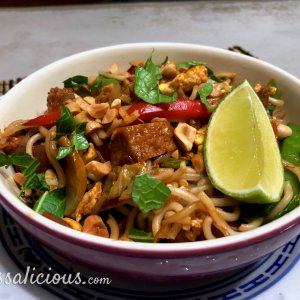 Vegetarische Pad Thai