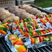 Vegetarische barbecue
