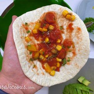 voorbereiding taco's
