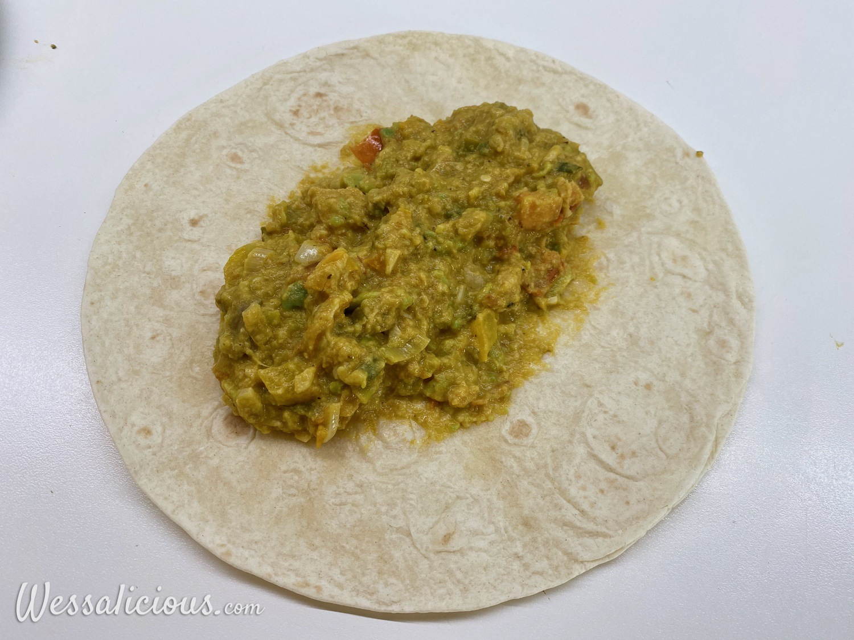 voorbereiding Krokante avocado wraps